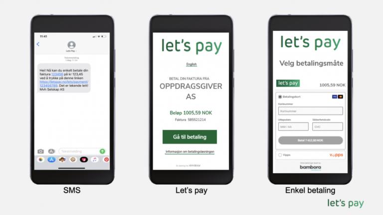 Har du fått SMS fra Lets Pay?